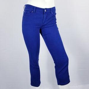 White House Black Market Cropped Jeans Sz 2 Slim